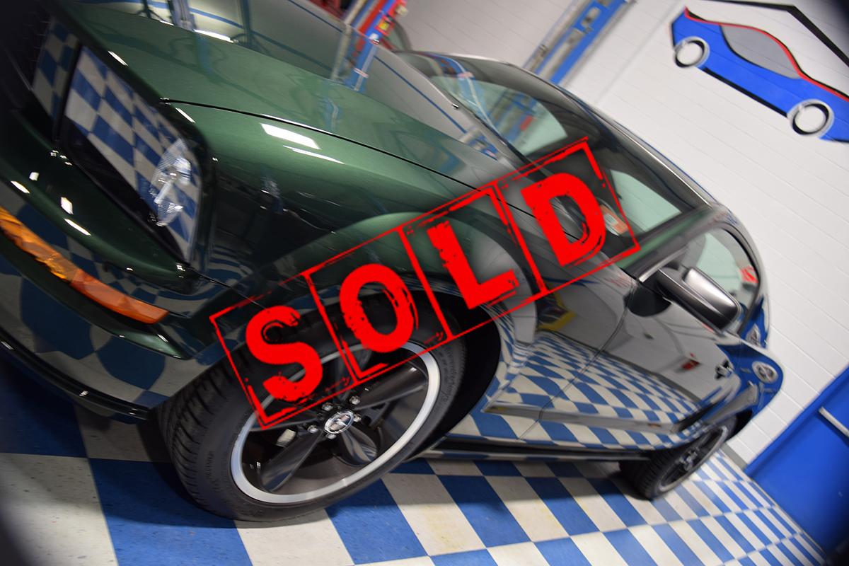 MustangBullitt 2014 Sold