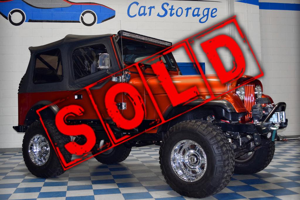 Jeep CJ-7 Sold