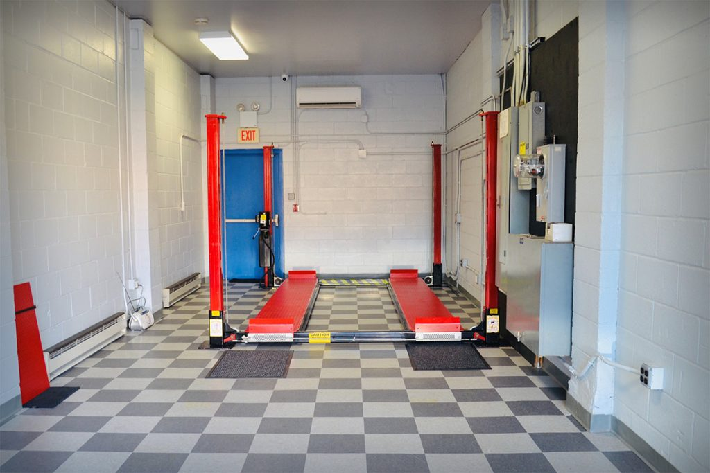 Private Garage Wide