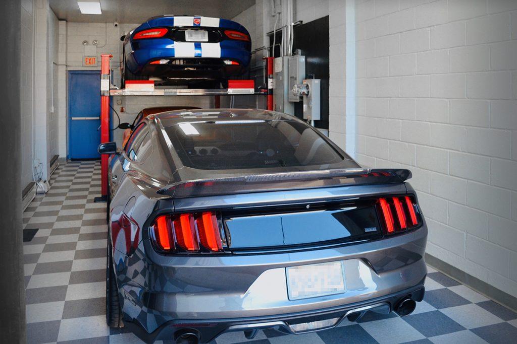 Private garage 3 cars