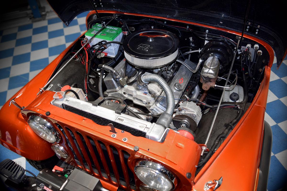 1980 Jeep CJ-7 Engine